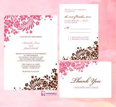 Wedding Invitation Template Download Gse Bookbinder Co For