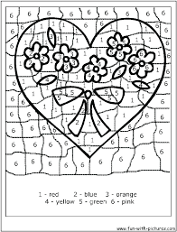 Printable Color By Number Pages For Kindergarten Free Printable