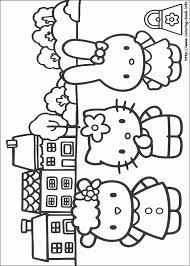 Grappige Kleurplaten Mooi Hello Kitty Coloring Picture More Coloring