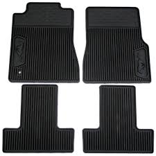 Ford 6R3Z-6313300-A Mustang Floor Mat Rubber Set 2005-2009