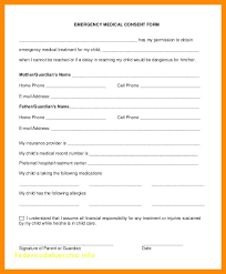 Child Medical Consent Form For Grandparents Standard Medical Release Form For Grandparents Template Child On