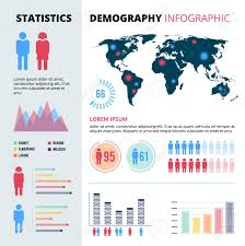 Infographic Concept Design Of People Population Demographic