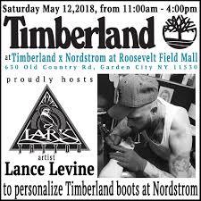 Timberland Hosts Lark Tattoo Artist Lance Levine At Timberland X