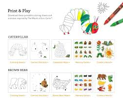 Color Activities Free Eric Carle Activities