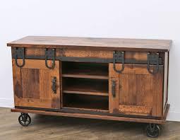60 qswo barn door tv cart