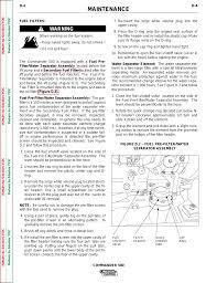 Water Separator Warning Light Maintenance Warning Lincoln Electric Commander Svm153 A