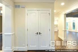 double closet doors door charming 4 interior hung prehung home depot cha