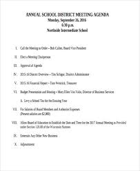 33+ Printable Agenda Examples & Samples