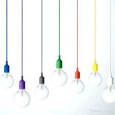 ceiling light base plate art decor silicone pendant lamp bulb holder hanging lighting fixture socket modern