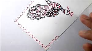 Mithila Painting Bed Sheet Design Craftuno Traditional Madhubani Painting Review Cart Adviser