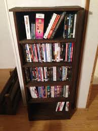 Shelves Made From Pallets Dvd Shelf Made From Pallets Things Ive Made Pinterest Dvd
