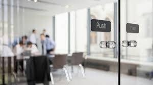 office photos. Fine Photos Transparent Glass Doors Leading To An Office For Office Photos E