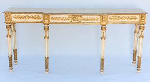 long narrow hall table. Popular Long Narrow Hall Table With And Painted Louis XVI Style Console At