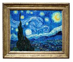 photo of the famous original starry night painting by artist vincent van gogh stock photo colourbox