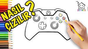 Nasıl Çizilir? - Xbox Joystick - Resim Çizme - ÇİZİM OKULU - YouTube