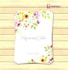 Wedding Invitation Template Publisher Wedding Invitation Template Word For Free Templates Rustic
