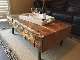 handmade rustic wood coffee table sets available astonishing pinterest refurbished furniture photo