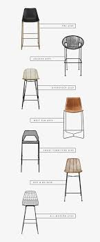 modern counter stools (with backs) roundup  almost makes perfect