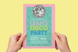 Green Disco Ball Invitations Childrens Birthday Party