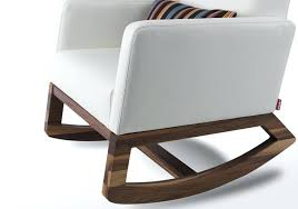 modern white rocking chair modern rocking chair in creative home decor arrangement ideas with modern rocking modern white rocking chair