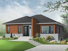 small modern home plan 027h 0317