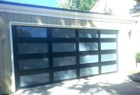 modern aluminum sleek sophisticated gl garage doors translucent