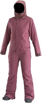 Airblaster Insulated Freedom Womens Ski Snowboard Suit S Berry