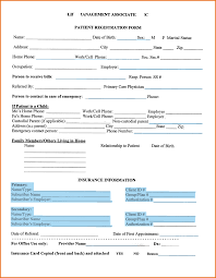 10+ patient registration form template | plantemplate.info