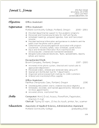 Office Assistant Resume Classy Medical Office Assistant Resume Ideal Medical Assistant Resume