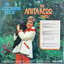 My Coloring Book By Anita Kerr Singers Lp With Rarissime Ref