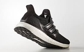 black adidas ultra boost leather cage ba8924 back