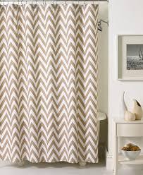 gray and white chevron shower curtain. kassatex bath accessories, chevron shower curtain gray and white