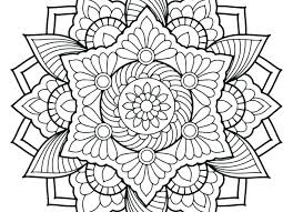 Coloring Pages Abstract Black Hole