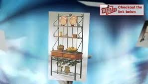 wooden bakers rack metal and wood bakers rack wooden bakers rack plans