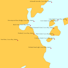 Ocean Tide Chart Maine Portland Casco Bay Maine Tide Chart