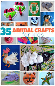 Animal Activity Chart 35 Easy Animal Crafts For Kids No Time For Flash Cards