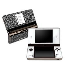 Nintendo Dsi Vs Dsi Xl Comparison Chart Composition Notebook Design Protective Decal Skin Sticker