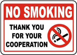 No Smoking Signage Office No Smoking Signs Manufactured In The Usa