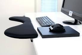 computer desk arm support aluminum elbow