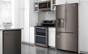 introducing the lg black stainless steel series