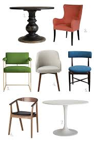 chairs and round tables makingitlovely