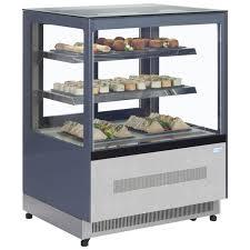 countertop cold food display small refrigerated display cabinet display cabinet with glass doors counter top cake display unit heated display cabinets
