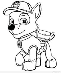 Paw Patrol Coloring Colouring Pages Chase Super Spy Book Pdf