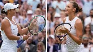Ashleigh Barty vs. Karolina Pliskova ...