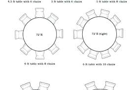 round table size for 10 round table for chairs table size for people co incredible round round table size