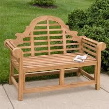 teak outdoor bench. Image Of: Teak Outdoor Bench Back