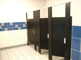 Stainless Steel Bathroom Stalls Painting Custom Decoration