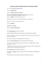 Printable Resume Builder Worksheet - Eliolera.com