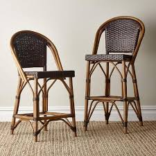 bistro counter stools. Impressive Paris Bistro Counter Stool Parisian Brown Rattan Stools