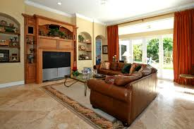 Where To Place A Rug In Your Living Room Living Room Pleasurable Family Living Room Nice Elegant Design